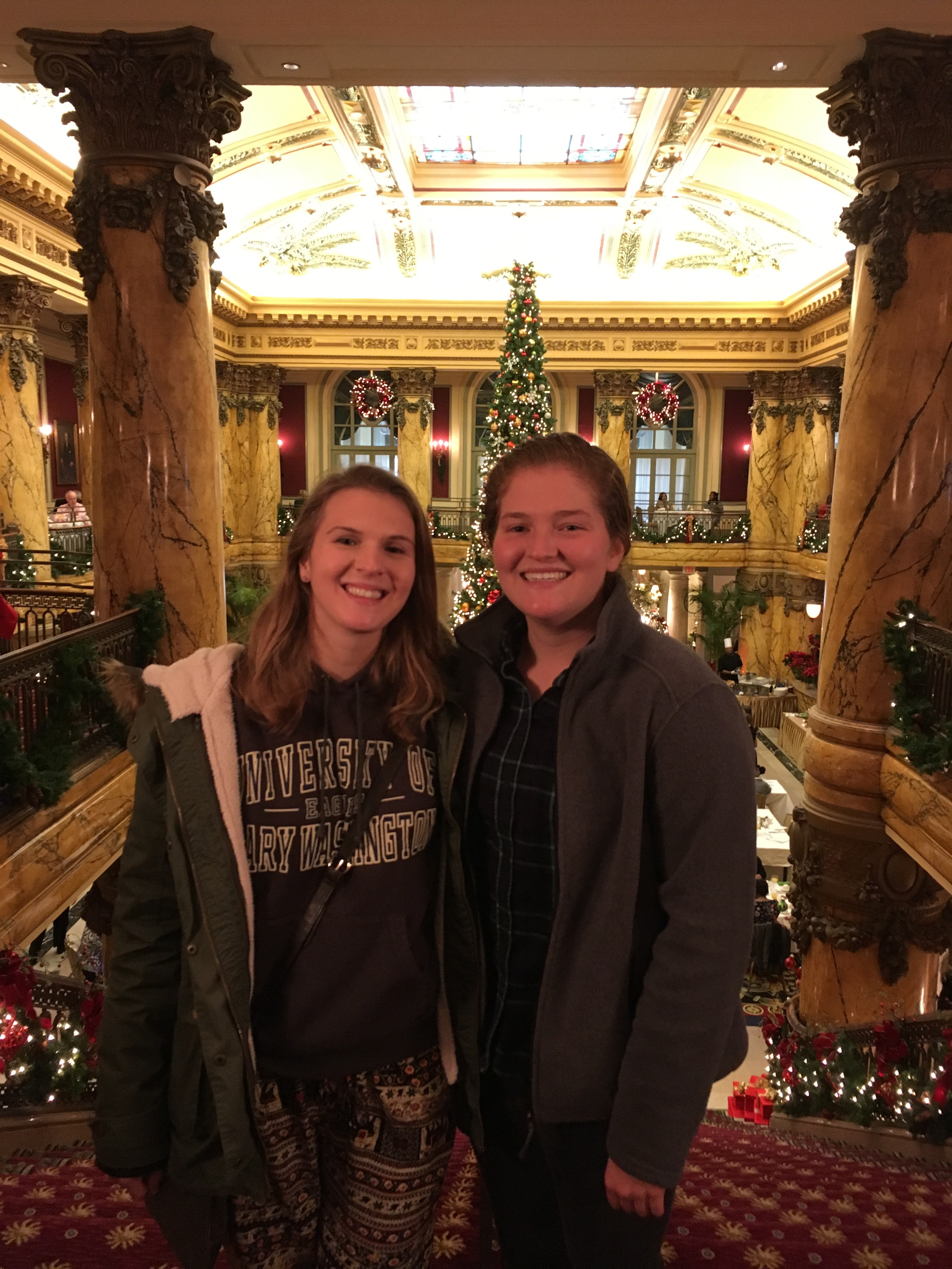 Christmas happenings at the Jefferson Hotel in RVA